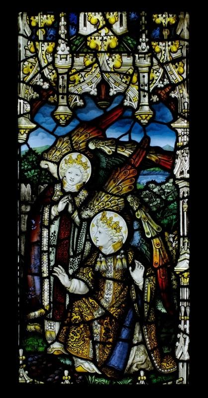 祝福の天使 Charles Eamer Kempe 工房作 イギリス