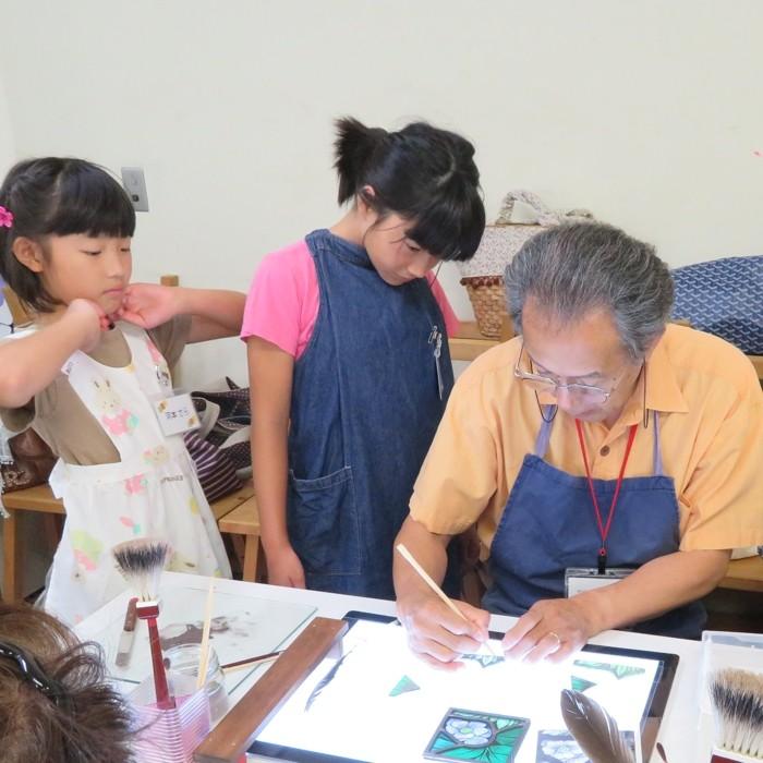 掛川の子供達との体験教室