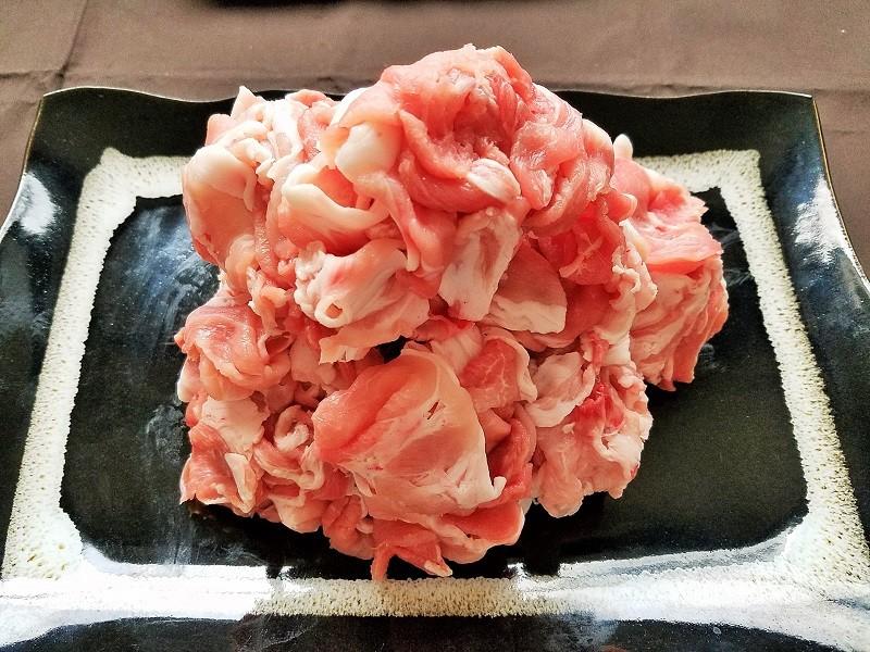 富士桜ポーク切り落とし