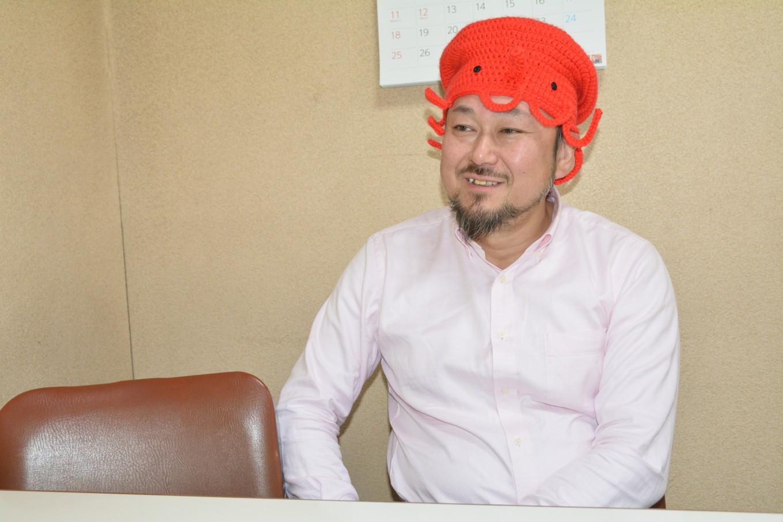 松葉商店 代表取締役 松葉孝博さん