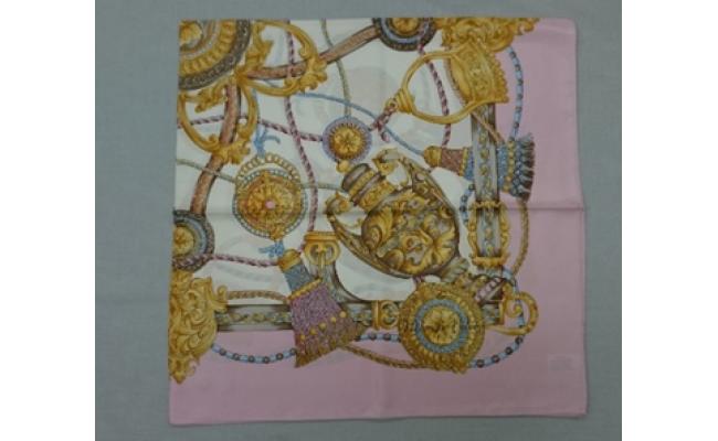 横浜スカーフ「シルク綾スカーフ 88cm角」