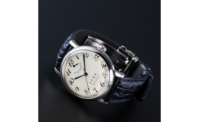 080-003 <腕時計>THE SPQR(文字盤アイボリー)