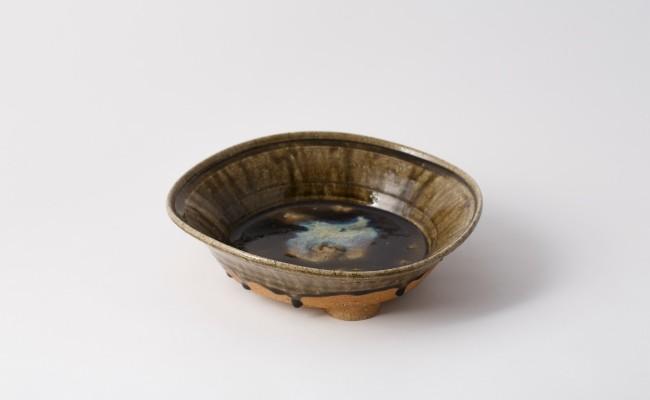唐津焼/藤ノ木土平/朝鮮唐津の鉢