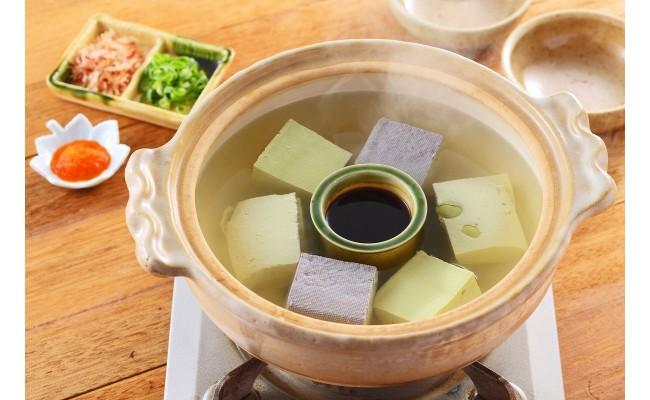 冬はあったかい湯豆腐でどうぞ