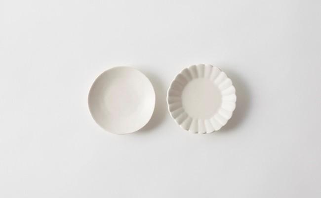 有田焼/やま平窯/オランダ小皿と菊割小皿