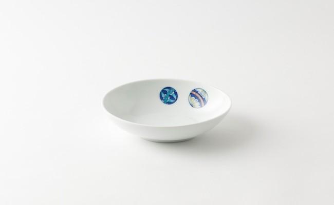 伊万里焼/畑萬陶苑/手まり楕円皿(中)