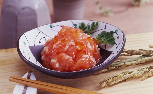 A-112石狩味と鮭ルイベ漬