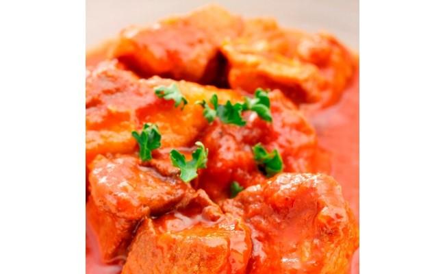 ローズポークのトマト煮