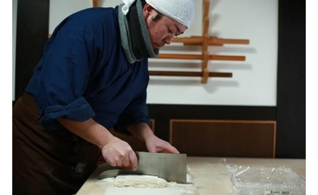 蕎麦の切り方でも美味しさが全く変わります。