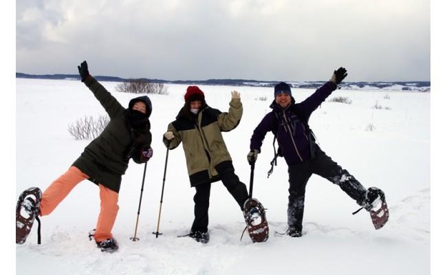 雪原での一枚
