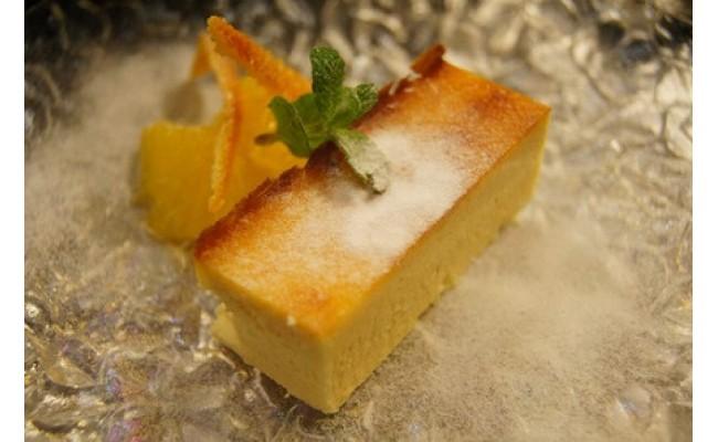 チーズキューブ盛り付けイメージ