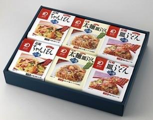 冷凍ちゃんぽん・皿うどん・冷凍太麺皿うどん詰合せ