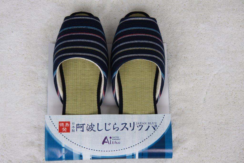 【夏用】阿波しじらスリッパ