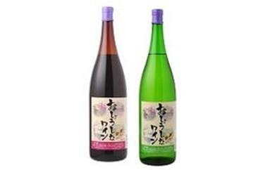 6 おしょうしなワイン 1800ml (赤、白)