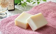 [№5632-0016]手作り化粧石鹸「茜」