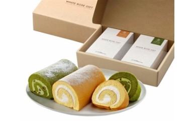 202 ロールケーキと抹茶ロールケーキ