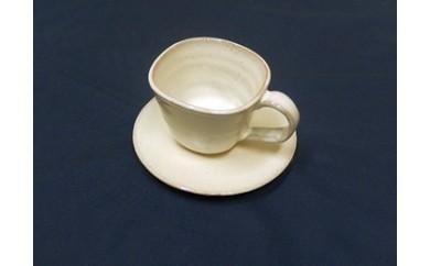 11  白萩のコーヒー茶碗セット