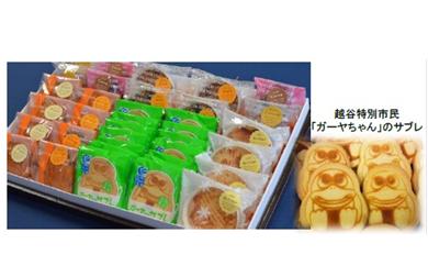 A-01 ガーヤちゃんサブレと洋菓子セット