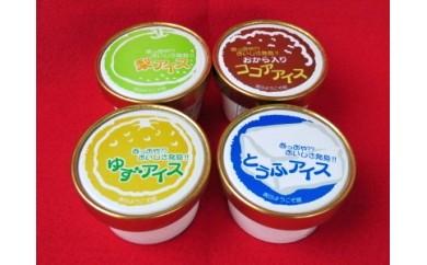 【10-06】青谷ようこそ館 手作りアイスクリーム(7~9月発送)