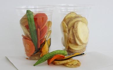 C18 ★素材の味★ 出萌の野菜チップス 【ほんのり空間】
