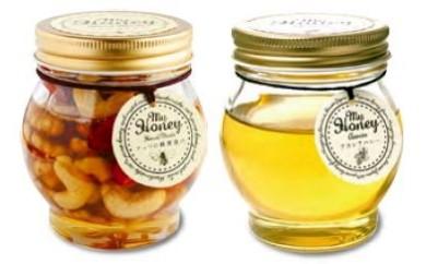 F042.ナッツの蜂蜜漬け&アカシアハニー