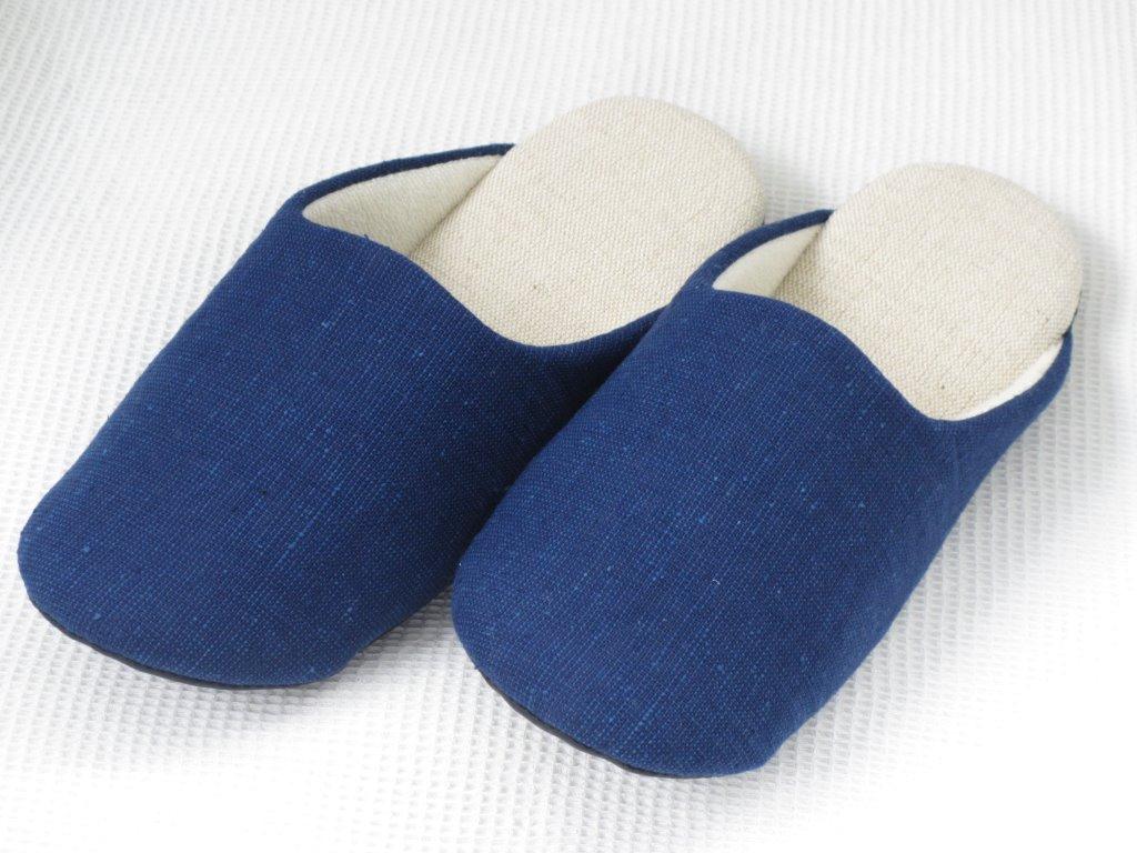 藍染スリッパ(濃紺)