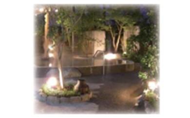 AA-0902 天然温泉大木の湯アクアス 入館券+ランチ券(ペア券)