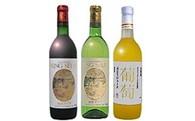 B01 K.S.柏原ワイン(赤白/辛口)&葡萄ジュースセット