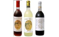 B02 K.S.柏原ワイン(赤白/甘口)&葡萄ジュースセット