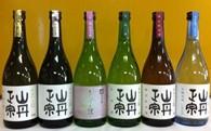 【F-2】地酒セット 6本(1.8L)(山丹正宗)  12.0P