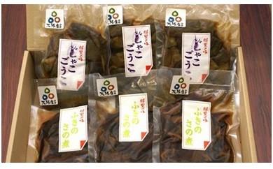 A016 大阪産(もん)の郷土食「じゃこごうこ」と「ふきのさの煮」セット