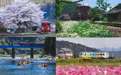 10S30 ふるさと納税記念 長良川鉄道全線1日フリー乗車証
