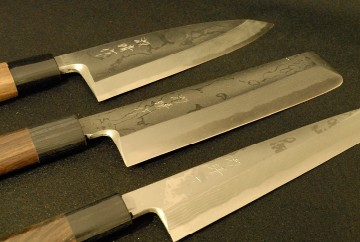 【日本三大刃物・土佐打ち刃物】包丁3点セット「出刃」「柳刃」「薄刃」