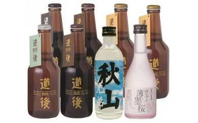 【C7】道後ビール・秋山・桜セット