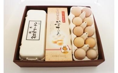 10.名古屋コーチンかすていら・名古屋コーチン卵詰合せセット