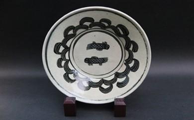 C35 ★恋の予感★裕翠(ゆうすい)窯 「魚紋鉢」 【仲むつまじく】