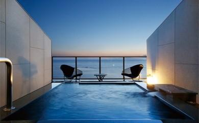 [絆-6] 水平線に溶け込むテラスで ホテル宿泊温泉プラン