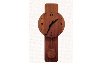 C-11木の時計