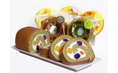 カラベジろーる焼きドーナツ5種セット