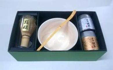 B-001 抹茶・茶碗等セット