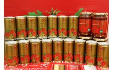 【30-11】トマトセット(プレミアム缶)【プレミアム缶×60本、トマトケチャップ×6個】