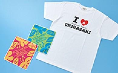 [№5631-0047]サザンビーチTシャツ(M)・ミニタオル2枚セット