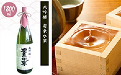 [№5645-0041]清酒 大吟醸・安東水軍