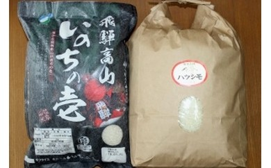 【1201】岐阜の米 食べ比べセット