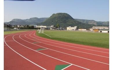 E-4 玖珠町総合運動公園「陸上競技場」1日貸切券