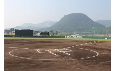 E-2 玖珠町総合運動公園「花林かいぞくスタジアム」(野球場)1日貸切券