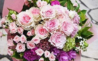 [№5693-0044]バラの花束「ラプソディー」