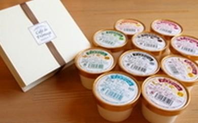 【c1-1】 アイスクリームとカマンベールチーズケーキのセット