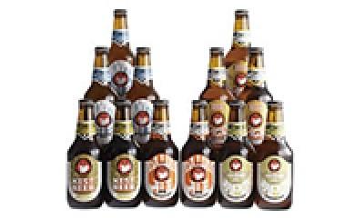 B003 常陸野ネストビールふるさと12本セット【30p】