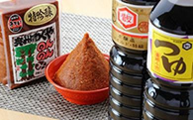 [№5706-0031]創業106年・川敬醸造の『現代の名工作・吟醸つゆ・醤油セット』